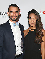 HOLLYWOOD, CA - SEPTEMBER 30: Eddie Kaulukukui, Tiana Masaniai, at The 6th Annual Saving Innocence Gala at Loews Hollywood Hotel, California on September 30, 2017. Credit: Faye Sadou/MediaPunch