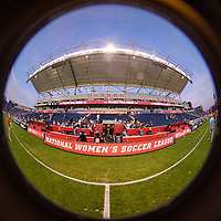 Bridgeview, IL - Sunday September 03, 2017: Toyota Park during a regular season National Women's Soccer League (NWSL) match between the Chicago Red Stars and the North Carolina Courage at Toyota Park. The Red Stars won 2-1.