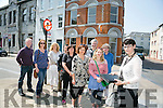 First Walking Tours of Victorian Tralee by Bridget O'Connell, Walking Tour Guide, with the Craft Makers Ashe Street on Saturday. Pictured Eamonn O'Reilly, Elaine Foley, Linda O'Reilly, Danny Riordan, Anne Elard, Michele O'Sullivan, Maria Moynihan,  Tony McCarthy, Luke McCarthy, Bert McCann with Tours Guide Bridget O'Connell