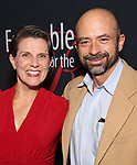 "Shorey Walker and husband Thomas Macmillan attends the Opening Night After Party for the Ensemble for the Romantic Century production of ""Tchaikovsky: None But the Lonely Heart"" Off-Broadway Opening Night  at West Bank Cafe on May 31, 2018 in New York City."