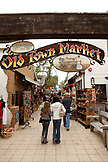 USA, California, San Diego, the enterance of the Old Town Market located in San Diego