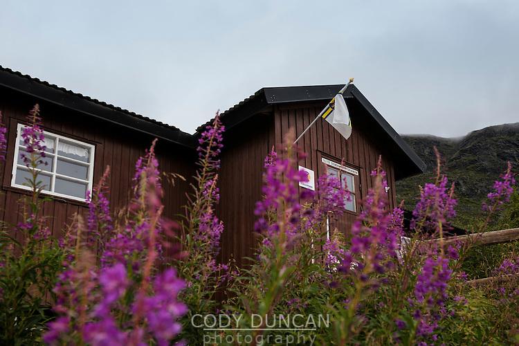 STF Vakkotavare mountain hut, Kungsleden trail, Lapland, Sweden