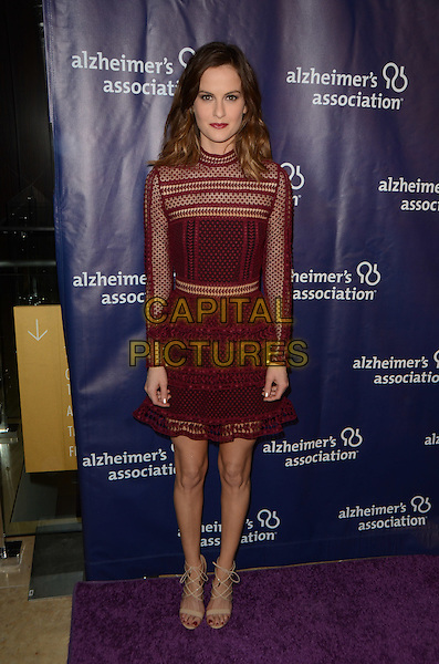BEVERLY HILLS, CA: MARCH 9: Brit Shaw at the 24th and final 'A Night at Sardi's' to benefit the Alzheimer's Association at The Beverly Hilton Hotel on March 9, 2016 in Beverly Hills, California. <br /> CAP/MPI/DE<br /> &copy;DE//MPI/Capital Pictures