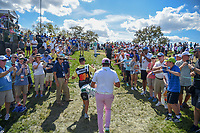 Rickie Fowler (USA) heads for the tee on 7 during round 2 of the Arnold Palmer Invitational at Bay Hill Golf Club, Bay Hill, Florida. 3/8/2019.<br /> Picture: Golffile | Ken Murray<br /> <br /> <br /> All photo usage must carry mandatory copyright credit (&copy; Golffile | Ken Murray)