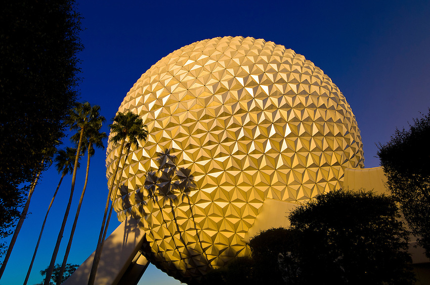 Geosphere, Epcot Center, Walt Disney World, Orlando, Florida USA