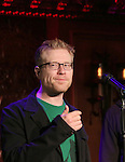 """Anthony Rapp previews his new show """"Celebrating 20 Years of Friendship"""" at the Feinsteins/54 Below Press Preview at Feinsteins/54 Below on October 11, 2016 in New York City."""
