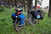 One of the bikes from the Uganda trip. Photo: Malin Serner/SCOUTERNA
