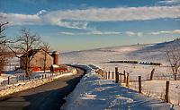 Winter Garret County Maryland