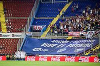 VALENCIA, SPAIN - SEPTEMBER 11: Sevila goal celebration during BBVA LEAGUE match between Levante U.D. And Sevilla C.F. at Ciudad de Valencia Stadium on September 11, 2015 in Valencia, Spain