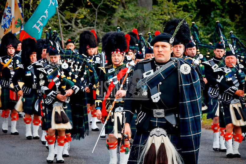 Lonach March. Lonach Highland & Friendly Society. The Lonach march precedes the Lonach Gathering at Bellabeg. www.dsider.co.uk whats on Strathdon guide