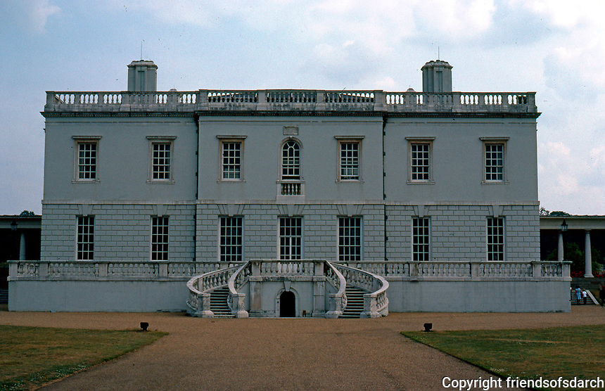 Greenwich--Queen's House, 1620's?  Designed by Inigo Jones. (Photo '79)