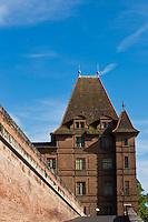 Europe/France/Midi-Pyérénées/82/Tarn-et-Garonne/Montauban: Le Musée Ingres est l'ancien hôtel de ville et un palais épiscopal construit en 1664 sur les restes du palais que le Prince Noir occupait pendant la guerre de Cent Ans