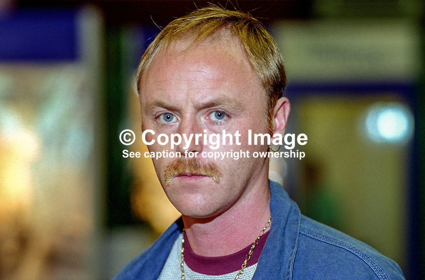 Frank McCoubrey, Highfield Springmartin Branch, Ulster Democratic Party, N Ireland, UK, 199509118..Copyright Image from Victor Patterson, 54 Dorchester Park, Belfast, UK, BT9 6RJ..Tel: +44 28 9066 1296.Mob: +44 7802 353836.Voicemail +44 20 8816 7153.Skype: victorpattersonbelfast.Email: victorpatterson@me.com.Email: victorpatterson@ireland.com (back-up)..IMPORTANT: If you wish to use this image or any other of my images please go to www.victorpatterson.com and click on the Terms & Conditions. Then contact me by email or phone with the reference number(s) of the image(s) concerned.