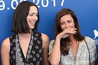 Rebecca Hall, Anna Mouglalis at the &quot;Venezia 74&quot; jury  photocall, 74th Venice Film Festival in Italy on 30 August 2017.<br /> <br /> Photo: Kristina Afanasyeva/Featureflash/SilverHub<br /> 0208 004 5359<br /> sales@silverhubmedia.com