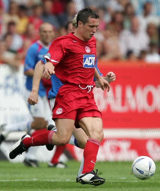 Scott Severin, Aberdeen.stock season 2004-2005.pic willie vass