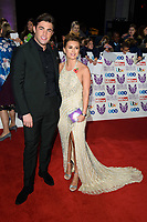 LONDON, UK. October 29, 2018: Jack Fincham &amp; Dani Dyer at the Pride of Britain Awards 2018 at the Grosvenor House Hotel, London.<br /> Picture: Steve Vas/Featureflash