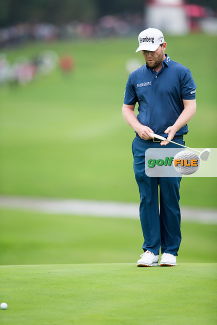 Brandan Grace (RSA) on the 10th during round 1 of the WGC-HSBC Champions, Sheshan International GC, Shanghai, China PR.  27/10/2016<br /> Picture: Golffile | Fran Caffrey<br /> <br /> <br /> All photo usage must carry mandatory copyright credit (&copy; Golffile | Fran Caffrey)