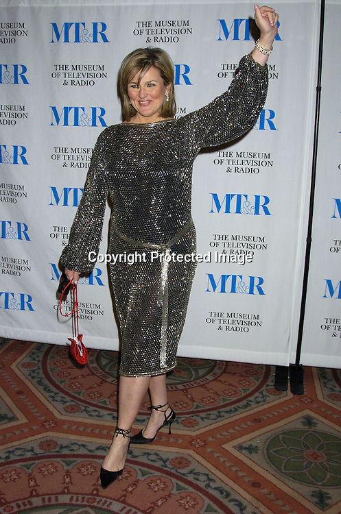 Cynthia McFadden ..at The Museum of TV and Radio New York Gala  honoring  Merv Griffin on May 26, 2005 at The Waldorf Astoria Hotel...Photo by Robin Platzer, Twin Images