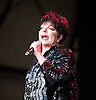 Liza Minnelli<br /> an American actress and singer. She is a daughter of singer and actress Judy Garland and film director Vincente Minnelli.<br /> Performing live at Kenwood House, Picnic Series of Summer Concerts 2011. Hampstead, London, Great Britain<br /> 1st July 2011<br /> <br /> <br /> Liza Minnelli<br /> <br /> <br /> Photograph by Elliott Franks
