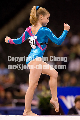 8/17/06 -- Photo by John Cheng -- VISA Championships Women Jr Prelim - Madison Turchin (Brandy Johnson's)