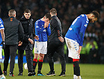 08.11.2019 League Cup Final, Rangers v Celtic: Ryan Jack in tears