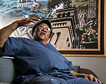 That's My Job: JD Davis, 84, is the animal caretaker at DePaul's College of Science and Health, and has been with the university since 2002. (DePaul University/Jamie Moncrief)