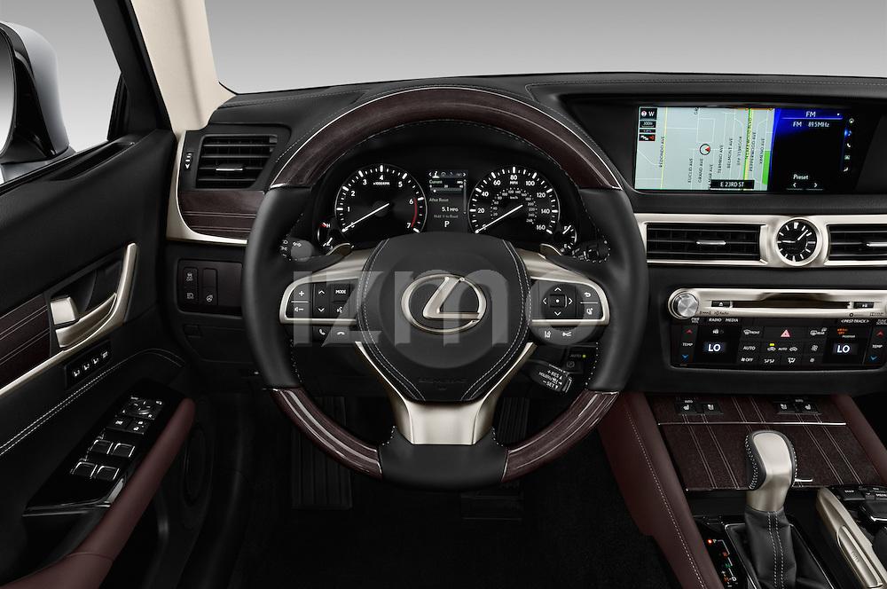 Car pictures of steering wheel view of a 2016 Lexus GS 350 4 Door Sedan Steering Wheel
