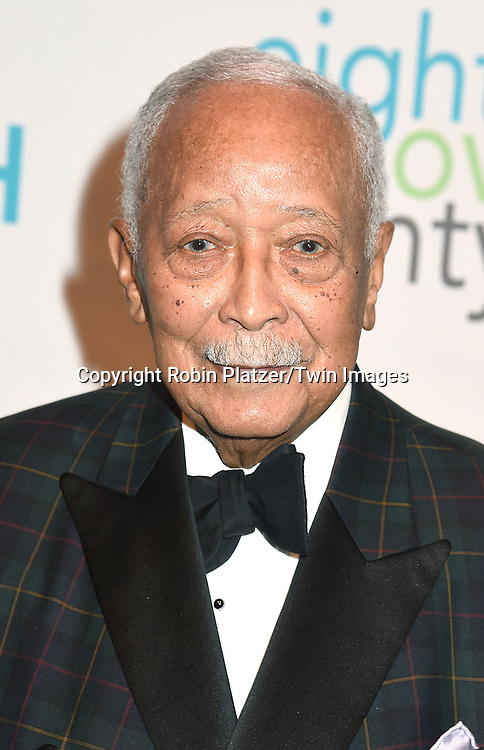 Mayor David Dinkins attends The New Jewish Home Gala Honoring 8 Over 80 on March 12, 2018 at the Ziegfeld Ballroom in New York, New York, USA.<br /> <br /> photo by Robin Platzer/Twin Images<br />  <br /> phone number 212-935-0770