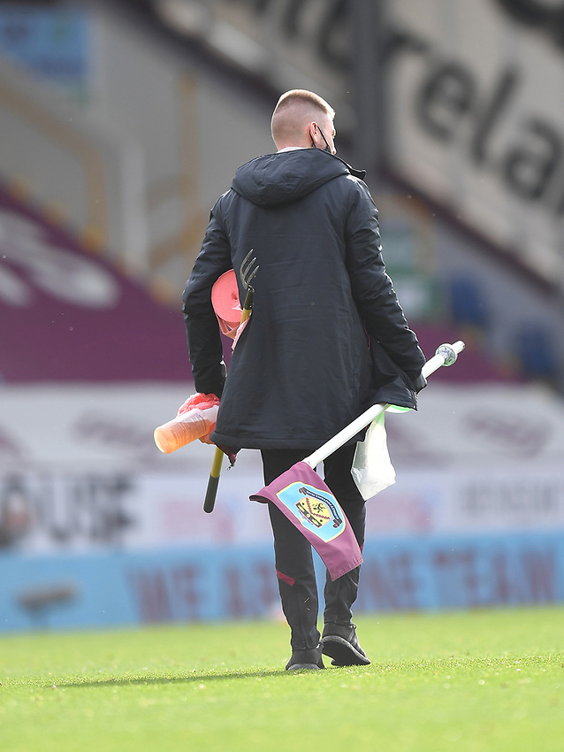 Burnley pack away as the season ends<br /> <br /> Photographer Dave Howarth/CameraSport<br /> <br /> The Premier League - Burnley v Brighton & Hove Albion - Sunday 26th July 2020 - Turf Moor - Burnley<br /> <br /> World Copyright © 2020 CameraSport. All rights reserved. 43 Linden Ave. Countesthorpe. Leicester. England. LE8 5PG - Tel: +44 (0) 116 277 4147 - admin@camerasport.com - www.camerasport.com