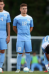 13 September 2016: North Carolina's Alan Winn. The University of North Carolina Tar Heels hosted the East Tennessee State University Buccaneers at Fetzer Field in Chapel Hill, North Carolina in a 2016 NCAA Division I Men's Soccer match. ETSU won the game 1-0 in sudden death overtime.