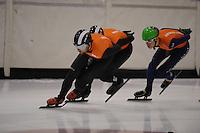 SCHAATSEN: HEERENVEEN: 31-01-2014,  IJsstadion Thialf, Training Topsport, Niels Kerstholt,©foto Martin de Jong