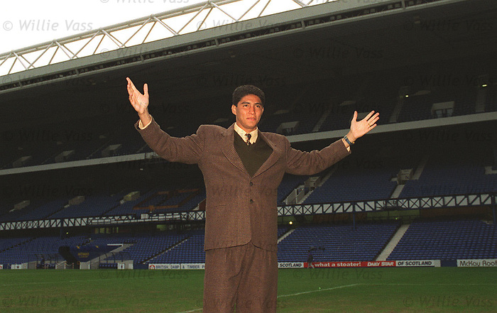 Mario Jardel at Ibrox