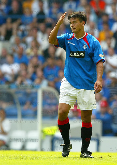 Michael Mols, Rangers.stock season 2003-04..pic willie vass