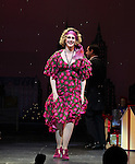 Katie Finneran during the Broadway Opening Night Performance Curtain Call for 'Annie' at the Palace Theatre in New York City on 11/08/2012