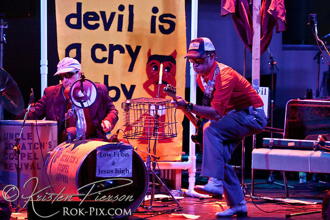 Uncle Scratch's Gospel Revival performing at Berklee Performance Center in Boston 3-15-10