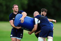 Henry Thomas of Bath Rugby in action. Bath Rugby pre-season training session on August 9, 2016 at Farleigh House in Bath, England. Photo by: Nathan Catt of Bath Rugby for Onside Images