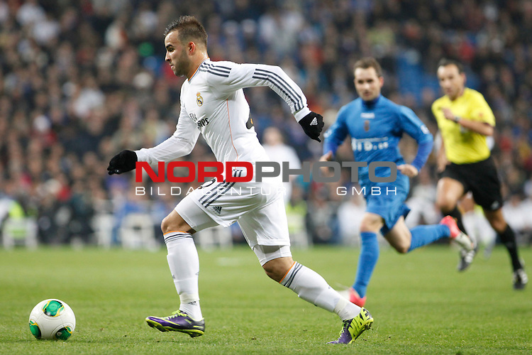 Real Madrid¬¥s Jesse during a Copa del Rey soccer match between Real Madrid and Olimpic de Xativa at Santiago Bernabeu Stadium in Madrid. December 18, 2013. Foto © nordphoto / Caro Marin) *** Local Caption ***