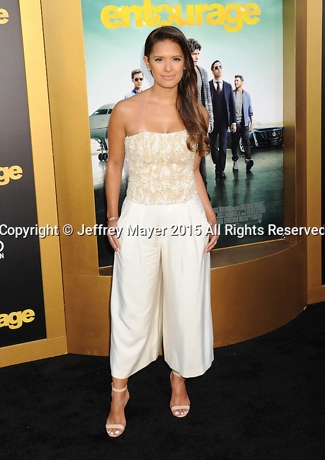 WESTWOOD, CA - JUNE 01: TV personality Rocsi Diaz arrives at the 'Entourage' - Los Angeles Premiere at Regency Village Theatre on June 1, 2015 in Westwood, California.