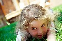 Playful little girl.