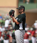 Ricky Nolasco of the Florida Marlins vs. the Houston Astros March 15th, 2007 at Osceola County Stadium in Kissimmee, FL during Spring Training action.  Photo copyright Mike Janes Photography 2007.