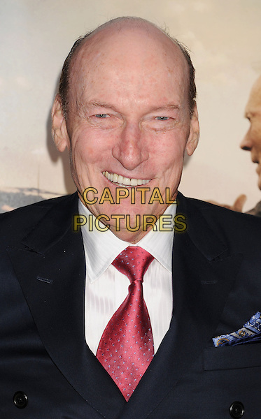 """Ed Lauter.""""Trouble With The Curve"""" Los Angeles Premiere held at the Regency Village Theatre, Westwood, California, USA..September 19th, 2012.headshot portrait suit black blue red tie white shirt .CAP/ROT/TM.©Tony Michaels/Roth Stock/Capital Pictures"""