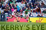 David Clifford Kerry in action against Padraig McGrogan Derry in the All-Ireland Minor Footballl Final in Croke Park on Sunday.