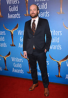 LOS ANGELES, CA. February 17, 2019: Patrick Somerville at the 2019 Writers Guild Awards at the Beverly Hilton Hotel.<br /> Picture: Paul Smith/Featureflash