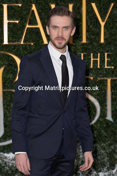 NON EXCLUSIVE PICTURE: MAZZ / MATRIXPICTURES.CO.UK<br /> PLEASE CREDIT ALL USES<br /> <br /> WORLD RIGHTS<br /> <br /> English actor Dan Stevens attends the Beauty And The Beast Launch Event held at Spencer House in London.<br /> <br /> FEBRUARY 23rd 2017<br /> <br /> REF: MIS 17409