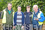 William O'Connor, Ross Cronin, Mark Reidy and Charlie Farrelly Castleisland at Castleisland Races on Saturday..