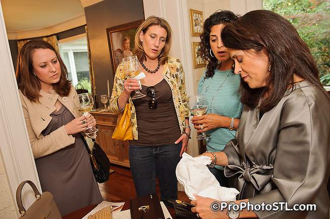 Laura Buccellati and Lily Azel trunk show in St. Louis on May 18, 2011.