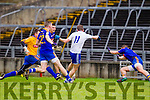 Niall O'Driscoll scores Saint Marys second goal against  Ratoath in the Semi Final of the Intermediate Club Championship at the Gaelic Grounds in Limerick on Sunday.