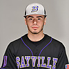 Jake Russo of Sayville poses for a portrait during Newsday's varsity baseball season preview photo shoot at company headquarters in Melville on Thursday, March 22, 2018.
