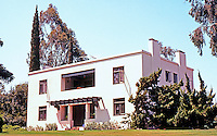 Irving Gill: Russell C. Allen Residence, 1907. 4094 Old Orchard Lane, Bonita, CA. (Photo 2000)