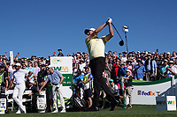 Webb Simpson (USA) In action during the final round of the Waste Management Phoenix Open, TPC Scottsdale, Phoenix, Arizona, USA. 01/02/2020<br /> Picture: Golffile | Phil INGLIS<br /> <br /> <br /> All photo usage must carry mandatory copyright credit (© Golffile | Phil Inglis)